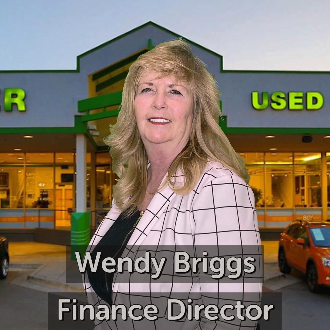 Wendy Briggs Finance Director