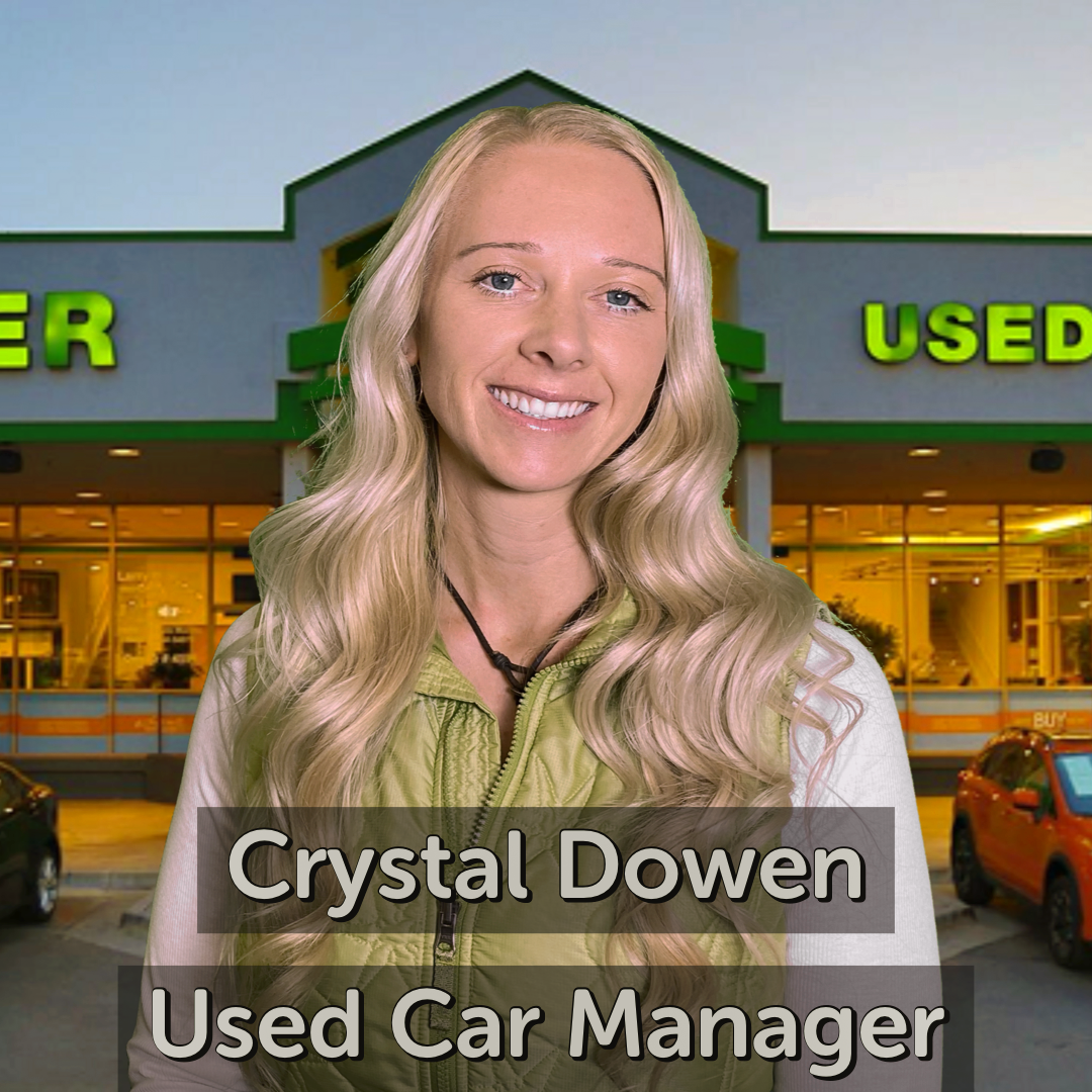 Crystal Dowen Used Car Manager