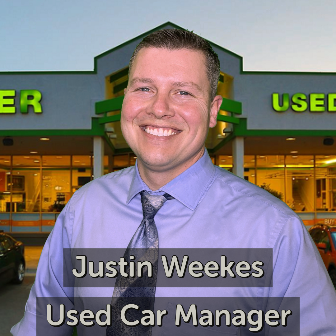 Justin Weekes Used Car Manager