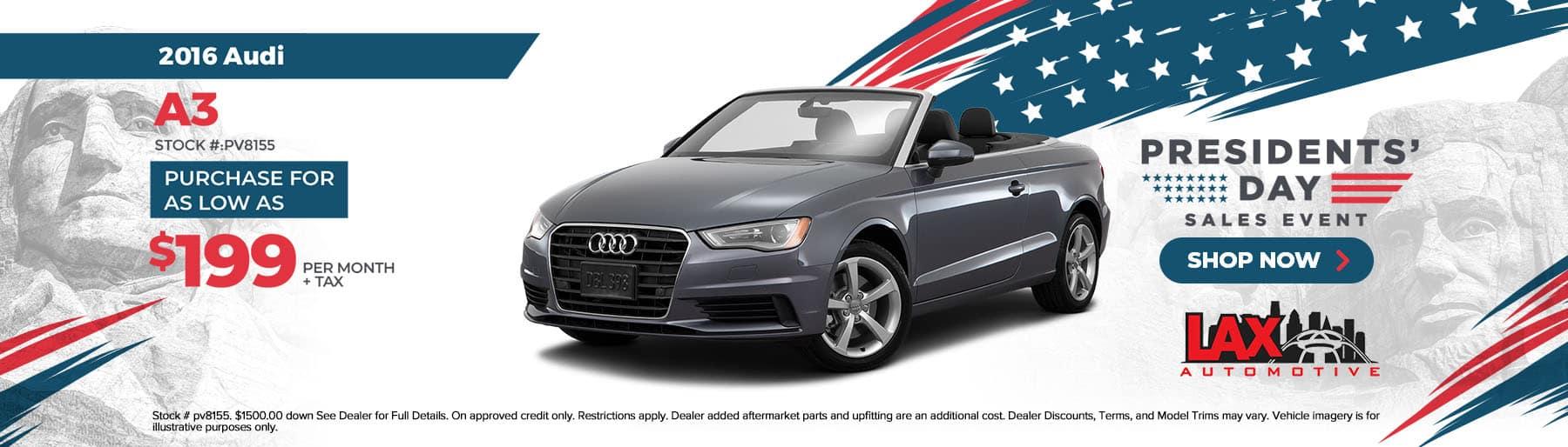 2021-02-Lax Automotive_Slide-1800×514 – 2016 Audi A3
