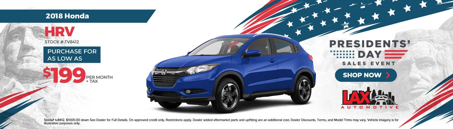 2021-02-Lax Automotive_Slide-1800×514 – 2018 Honda HRV