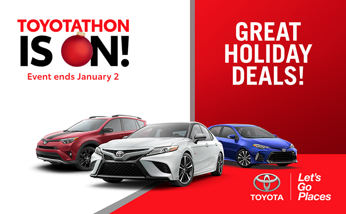 Toyotathon Sales Event
