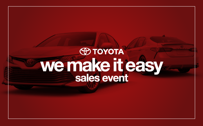 We Make It Easy Sales Event