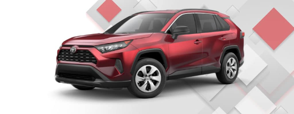 2020 RAV4 LE 8 Speed Auto