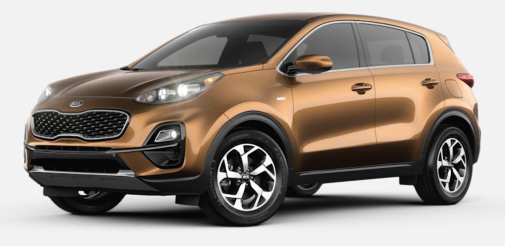 New 2021 Kia Sportage LX FWD