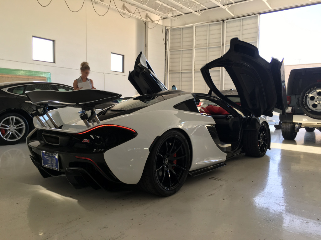 Incoming 2015 Mclaren P1 Scottsdale Az Luxury Auto Collection