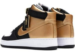 Goldrush Rally Bespoke Nike Air Force 5 5