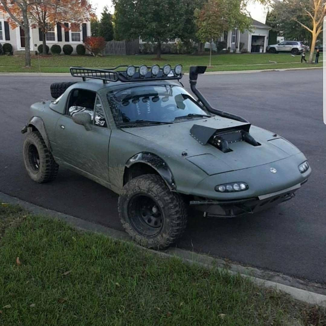 Motor1 Watch Mx 5 Miata Turn Into Lifted Supercharged Off