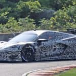 mid engine corvette c8r race car spy photos (1)