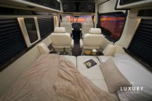 LUXE Daycruiser Rear Bed Forward