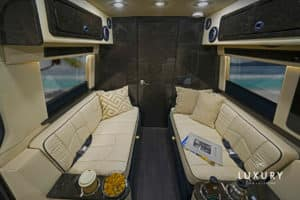 LUXE Daycruiser Rear Lounge