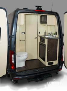 LUXE Daycruiser Rear Bathroom