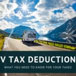 RV Tax Deductions