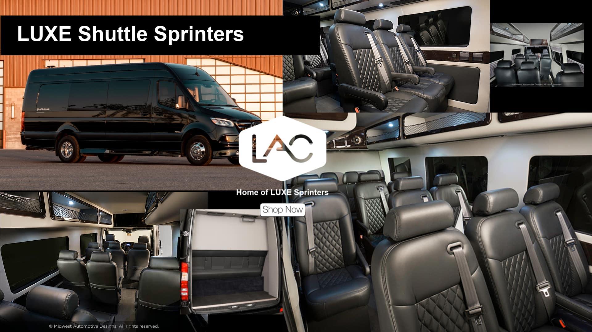 LUXE Shuttle Sprinters