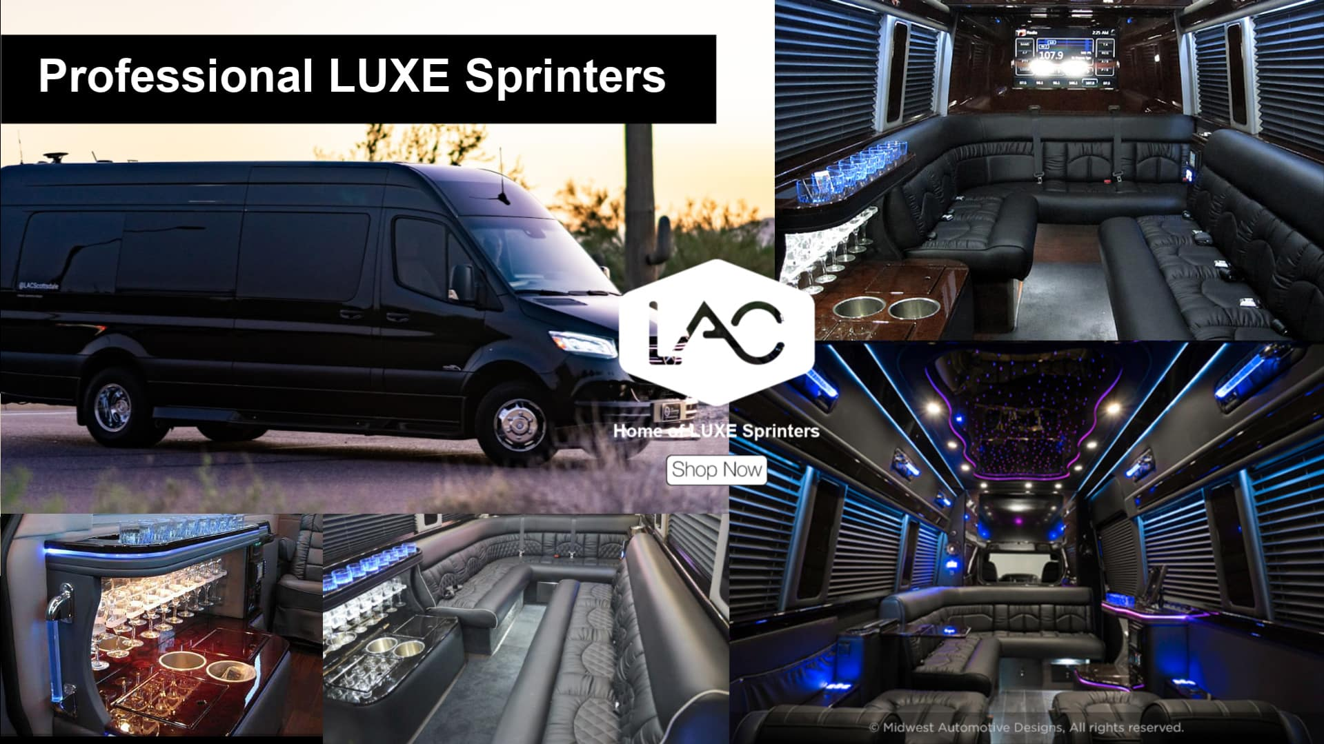 LUXE Professional Sprinter