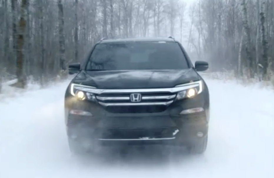 honda pilot winter driving