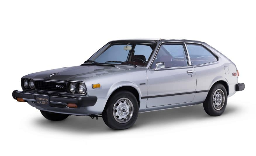 In 1976, Hondau0027s First Accord Was A Two Door Hatchback. At The Time, The  Honda Accord Was The Brandu0027s Premium Model Line Above The Civic.