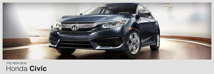 2018 Honda Civic   Buy or Lease a New Honda Civic near Manchester,