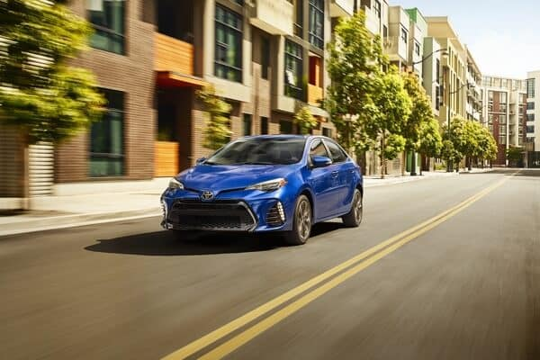 Toyota Corolla Driving