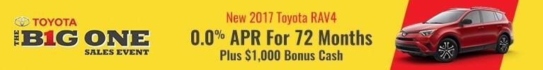 0.0% APR for 2017 RAV4