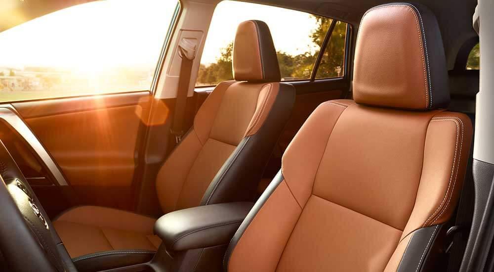 2017 Toyota RAV4 interior