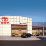 Marietta Toyota New Car Showroom Exterior