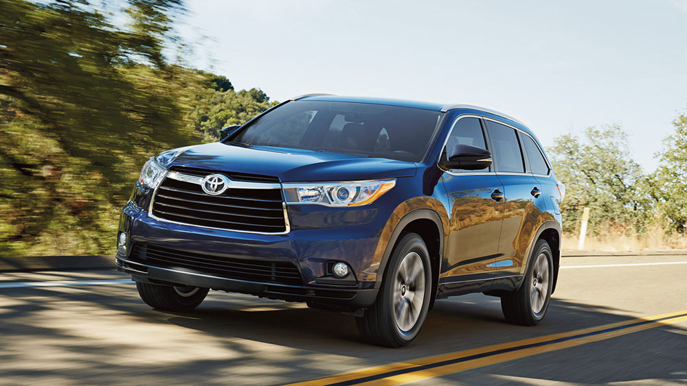 New 2017 Highlander (Non-Hybrid) Financing - 1.9%/36 1.9%/48 1.9%/60 2.9%/72 Months APR