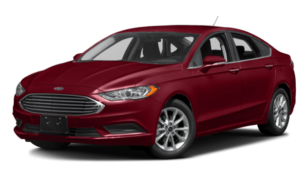 2017 Ford Fusion red exterior model
