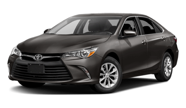 2017 Toyota Camry black exterior model