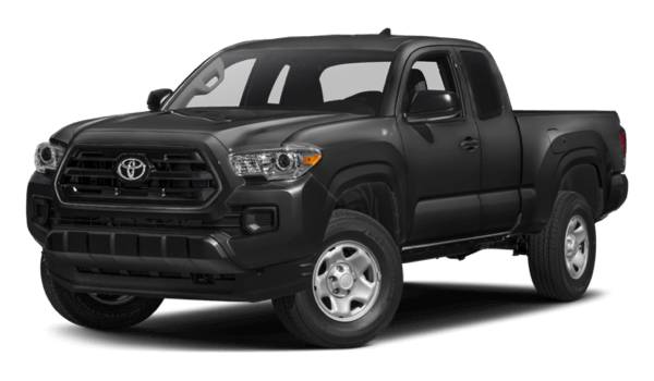 2017 Toyota Tacoma black exterior model