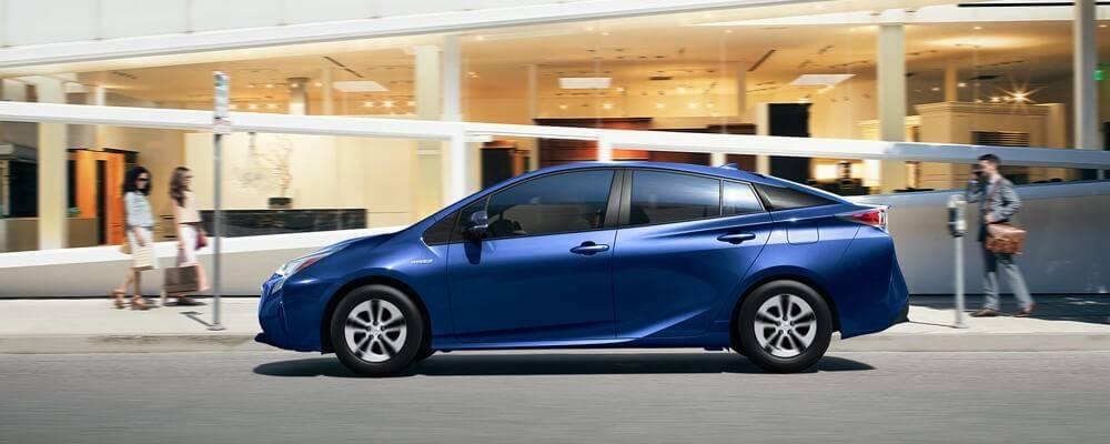 2017 Toyota Prius Blue Exterior Model