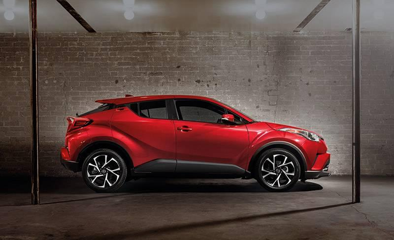 2018 Toyota C-HR side profile