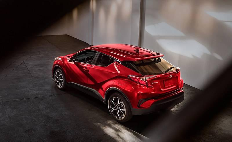 2018 Toyota C-HR in Ruby Flare Pearl