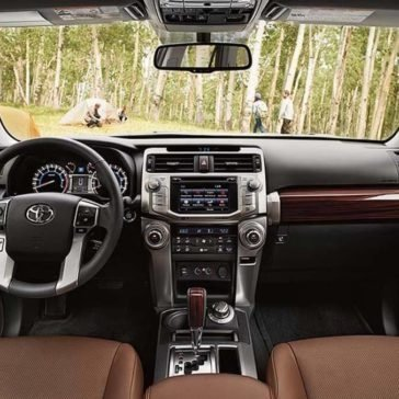 2017 Toyota 4Runner front interior
