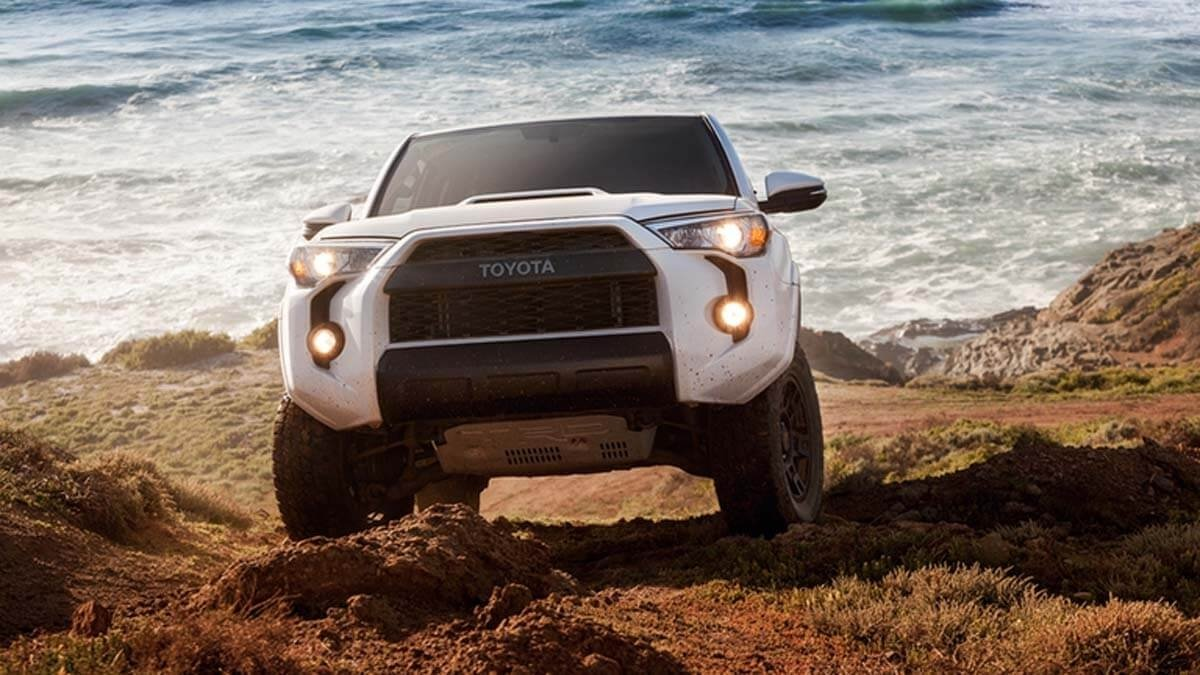 2017 Toyota 4Runner front exteriior