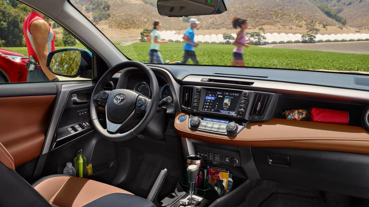 2018 Toyota RAV4 front interior