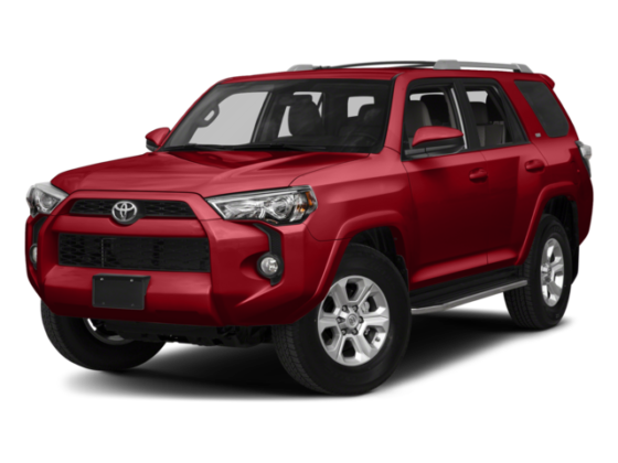 4Runner angled view