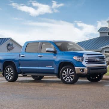 2018 Toyota Tundra blue exterior
