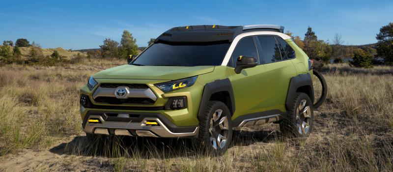 Future Toyota Adventure Concept exterior view