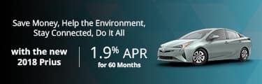 2018 Toyota Prius 0% for 60 mos