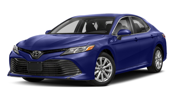 2018 Toyota Camry white background