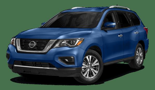 2018 Nissan Pathfinder white background
