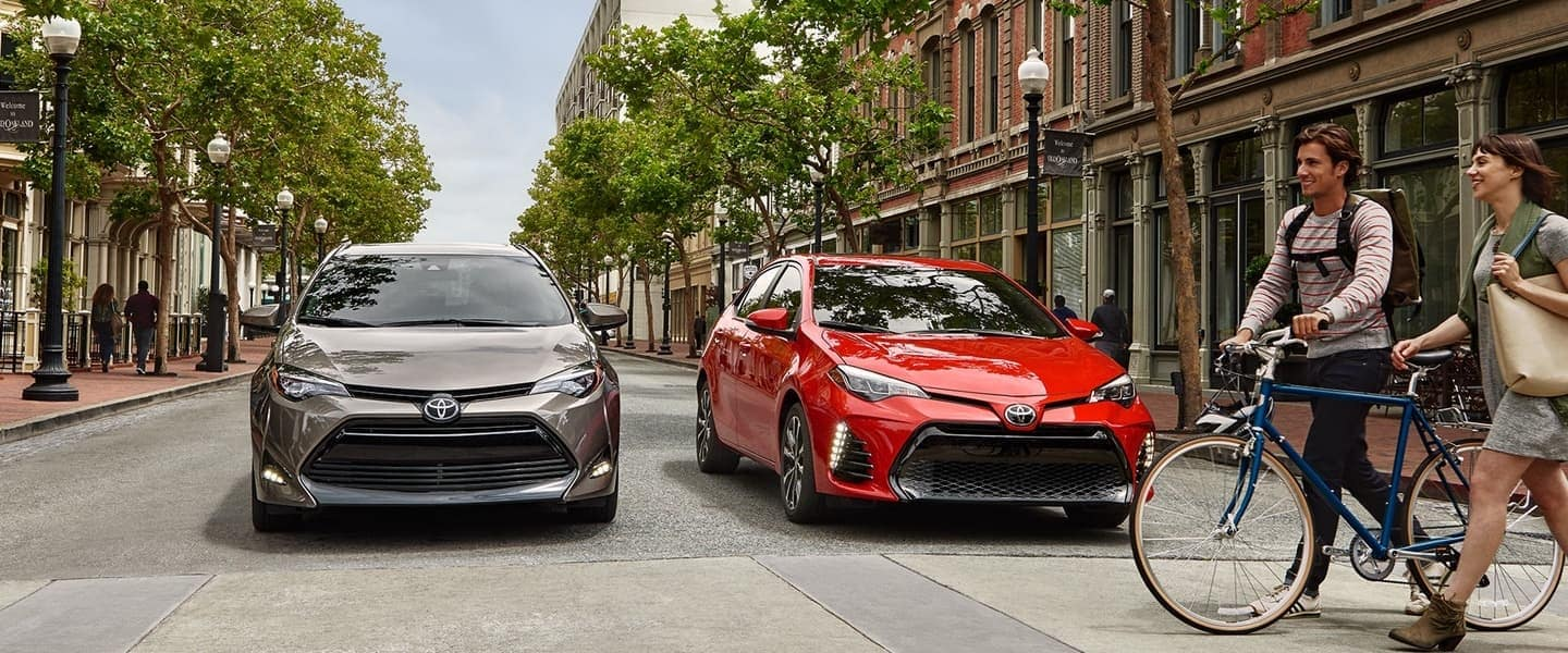 2018 Toyota Corolla models stopped