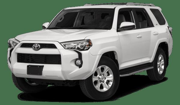 2018 Toyota 4Runner white background