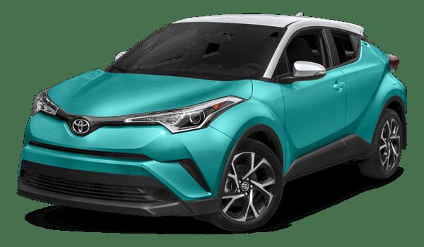 2018 Toyota C-HR white background
