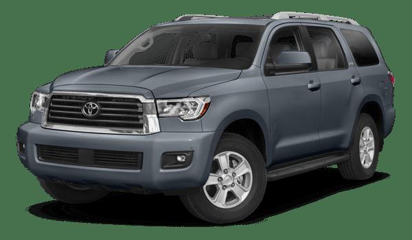 2018 Toyota Sequoia white background