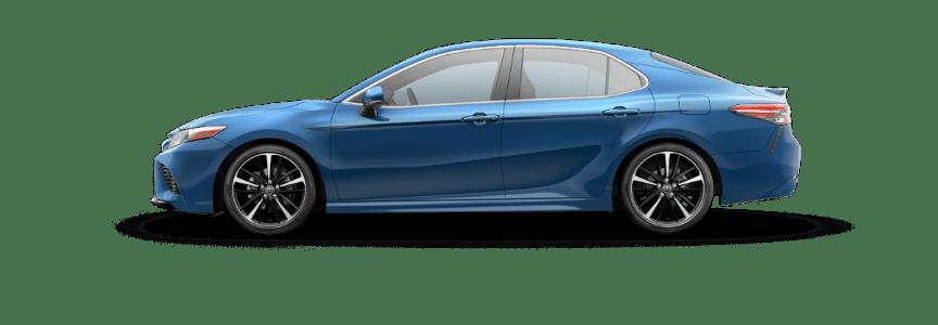 2018 Toyota Camry Blue Streak Metallic