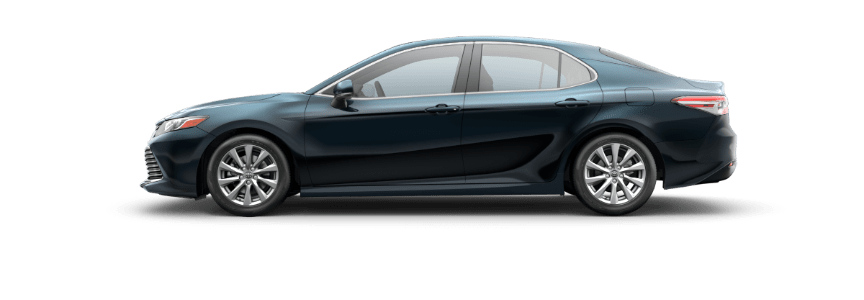 2018 Toyota Camry galactic aqua mica