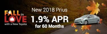 2018 Prius 1.9% for 60 months