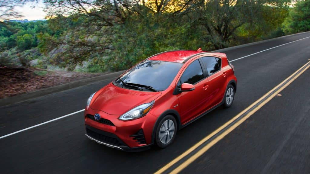 New 2019 Toyota Prius c Hybrid Lease $259 per month / 36 Months / $2,958 due at signing